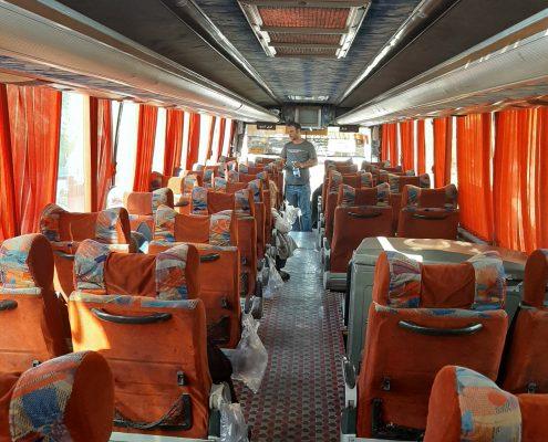 اتوبوس دربستی تبریز